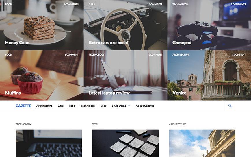 gazette-wordpress-tema