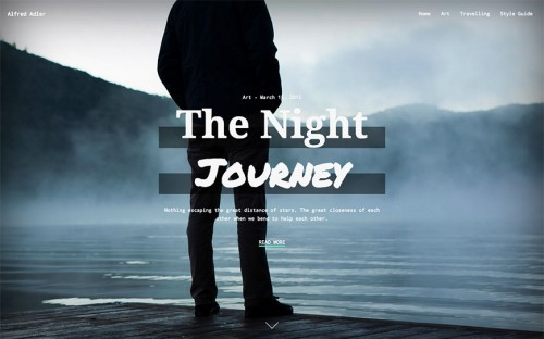 adler-wordpress-tema