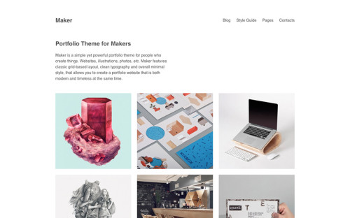 maker-wordpress-tema