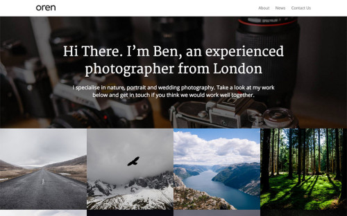 oren-wordpress-tema